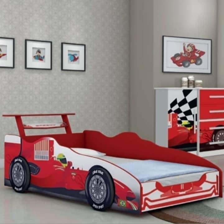 Cama Infantil Formula 1